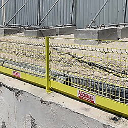 Accurate Safety Edge Protection at the Alar Hotel construction site in Qatar